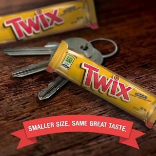 $8.96TWIX 100 Calories Caramel Chocolate Cookie Bar Candy 0.71-Ounce Bar 24-Count Box