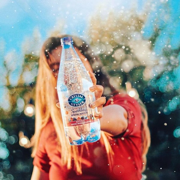 天然气泡矿泉水大瓶装 1250毫升 12瓶