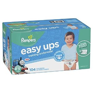 a11f76f83fe1d Pampers 5 OffEasy Ups Training Pants Pull On Disposable Diapers for Boys