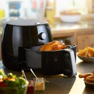史低价:Philips 精选空气炸锅、室内烧烤炉热卖