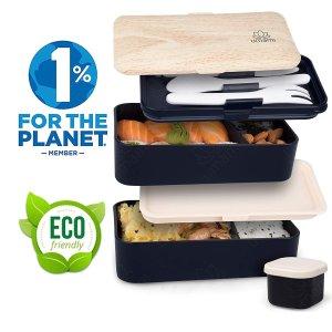现价€28.49(原价€29.99)Umami 午餐盒套装 好价 附带餐具和沙拉酱容器