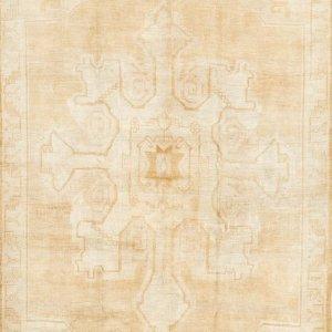 Vintage 羊毛装饰地毯 6'9