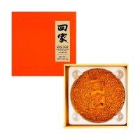 元初食品 回家 状元饼 八黄白莲蓉月饼 1粒装 1000g