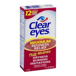 $5.44Clear Eyes 加强型去发炎红眼眼药水 30ml大容量