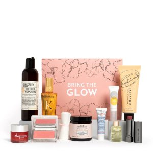 变相0.25折!仅€55收封面10件单品FU 春季 Spring Glow Beauty Box 护肤礼盒套组 总价值超