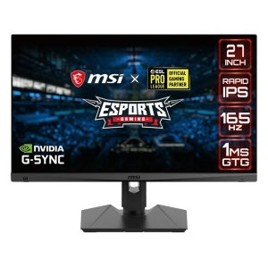 New Release: MSI MAG274QRF QHD Rapid-IPS 165Hz 1ms Monitor