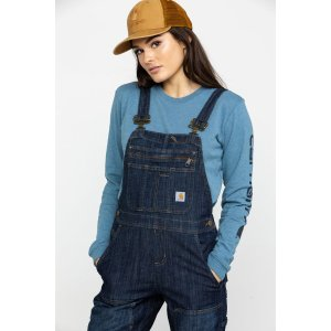 CarharttWomen's Brewster Double Front Bib Overall - Moosejaw