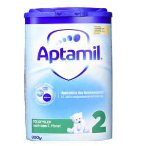 仅售15.95欧  更接近母乳 避免外出容易感染德国Aptamil Pronutra ADVANCE爱他美卓萃系列2段 奶粉800g