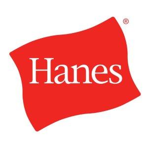低至3折 印花短袖$5收Hanes 恒适 基础款清仓 儿童纯棉内裤单件$1.5 纯色T$8