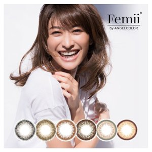 Femii by ANGEL COLOR 日抛美瞳 [10片/盒]