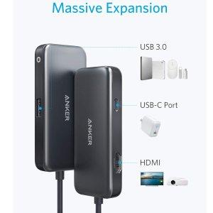 Anker 3-in-1 三合一USB-C扩展坞 3.3折特价