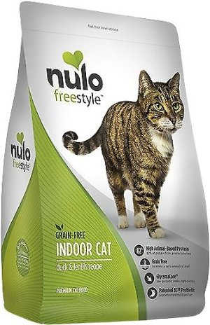 Nulo Freestyle Duck & Lentils Grain-Free Indoor Dry Cat Food, 12-lb bag - Chewy.com