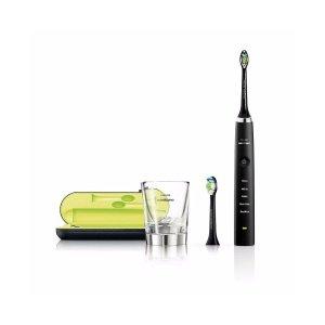 Philips钻石电动牙刷+充电杯