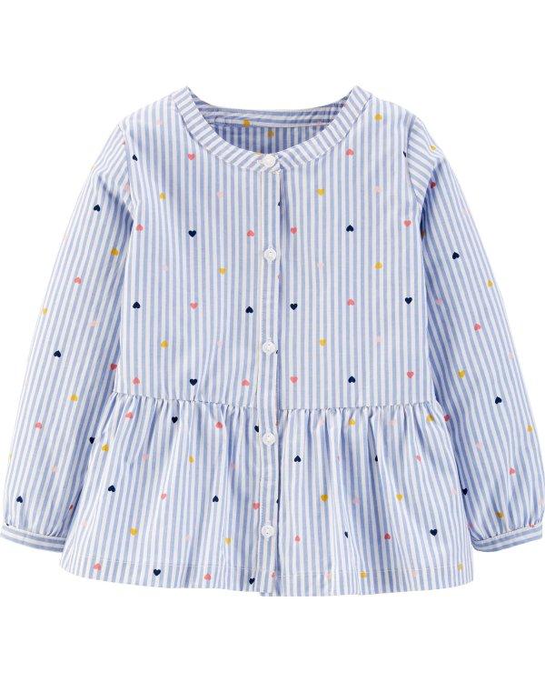 小童条纹衬衣