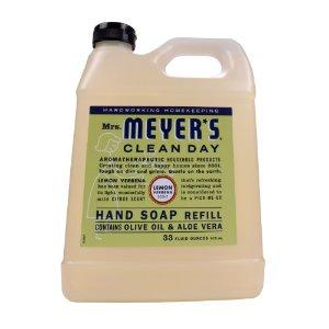 Mrs. Meyer's Clean Day Liquid Hand Soap Refill Lemon Verbena, 33 Fl Oz