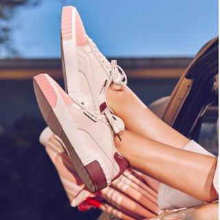 全码低至¥435Puma 新款Cali Remix系列拼色女鞋 大表姐刘雯同款