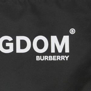 $199(原价$490)逆天价:Burberry 字母Logo手拿包 极简设计超有腔调 百搭款必收