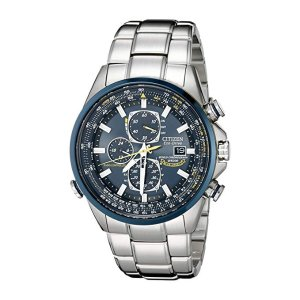 CitizenMen's AT8020-54L Blue Angels Stainless Steel Eco-Drive Dress Watch