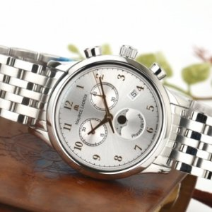 EXTRA $64.99 OFFMaurice Lacroix LC1087-SS002-121 Chronograph Quartz Watch