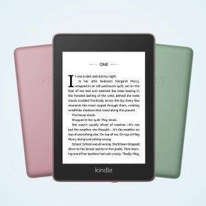 黑五价!折后€84.9 原价€116Kindle Paperwhite 4 阅读神器 防水防尘 看书听书一机搞定