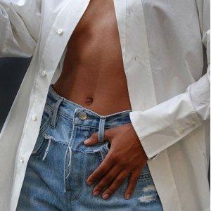 低至2.5折+免邮!€61收牛仔裤限今天:Frame 版型超赞牛仔裤 好穿又显瘦 秒变大长腿