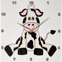 3dRose 牛牛挂钟