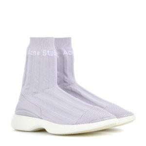 Acne Studios香芋紫袜子鞋