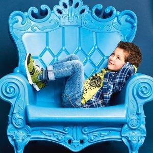 再降 低至5折+包邮GEOX官网 会呼吸的童鞋,意大利品牌,多州免税