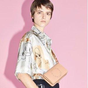 2折起+额外85折 €106收围巾Stella McCartney 专场热卖 经典厚底星星鞋 少女心爆棚