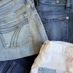 $99 And Under7 For All Mankind Women's Jeans Sale