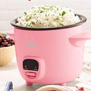 $21 (原价$28) 高颜值史低价:Dash 高颜值樱花粉迷你电饭煲 2 cup容量 吃出美感
