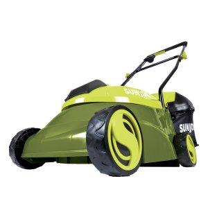 Sun Joe 28-Volt 14-Inch Cordless Lawn Mower, Green