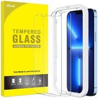 iPhone 13 Pro Max 钢化玻璃膜 2张 带贴膜神器