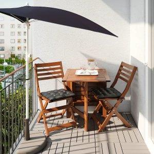 Ikea适合公寓阳台遮阳伞
