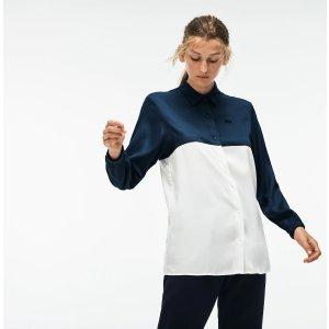 Lacoste女士拼色衬衫