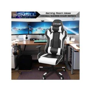 Homall 高背电竞椅 带腰垫头枕