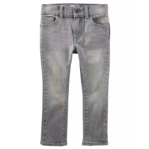 OshKosh B'gosh男小童牛仔裤,2T-5T