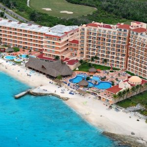 $499起 含机票+4星酒店+餐饮+娱乐4晚/7晚墨西哥科苏梅尔岛 全包式海滩度假酒店套餐
