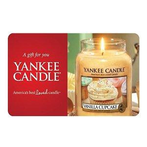 Yankee Candle 电子礼卡