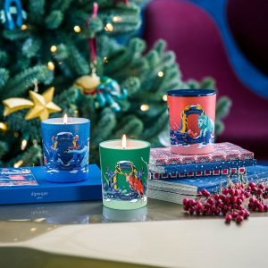 €40起 收走马灯圣诞限定上新:Diptyque 圣诞系列上市 北欧风蜡烛、走马灯香氛迷人又治愈