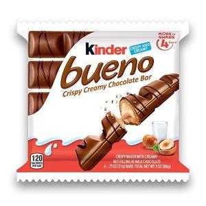 KinderBueno 缤纷乐巧克力棒 4包