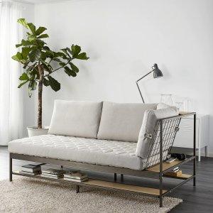 IkeaEKEBOL Sofa, Katorp natural - IKEA
