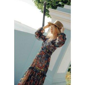 AnthropologieAnnabella Maxi Dress