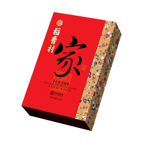 【预售 预计9月上旬发货】稻香村 合家团圆 月饼礼盒 10枚入 710g