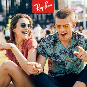 £58起Ray-Ban 精选最新男女、童款墨镜