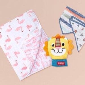$7起婴儿日用品促销 收 Bumkins 卡通餐盘和 Aden + Anais 睡袋