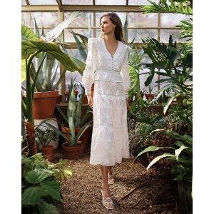 MajeRoxana Lace-Embroidered 连衣裙