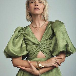 低至6折 澳洲版GanniAje.官网 气质连衣裙折扣专场 小众设计遮肉显瘦