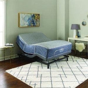 送最高价值$1499可调节床架最后一天:US-Mattress 精选华人爆款超硬席梦思Phillipsburg床垫年末促销