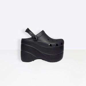 松糕洞洞鞋